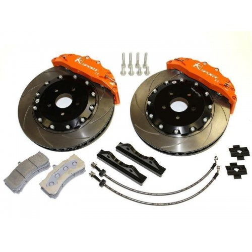 FOR Porsche VW Touareg Front Vented Disc Brake Rotors and Pad Sets 330 X 32 mm