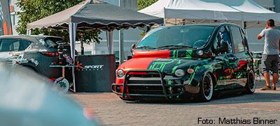 Boost Beatz & Burger 2018 - Fiat Multipla